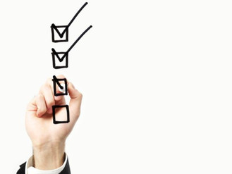 A brief checklist for the new tax year
