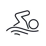 Aqua Fitness Icon
