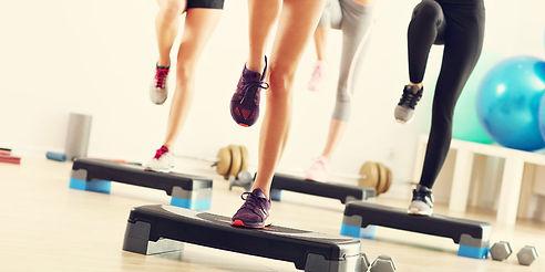 Step aerobic Velbert Sports