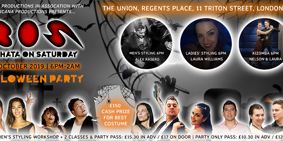 BOS - Bachata On Saturday - Halloween Party!