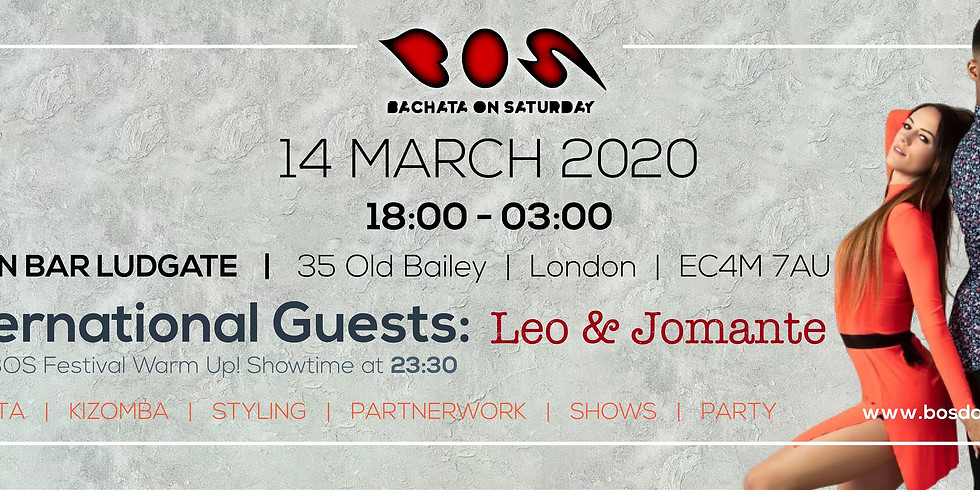 BOS - Bachata On Saturday - Union Ludgate