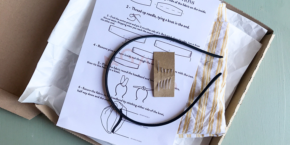 ALone Design Club Weekend Workshop - Make Your Own Headband with AGNES LDN