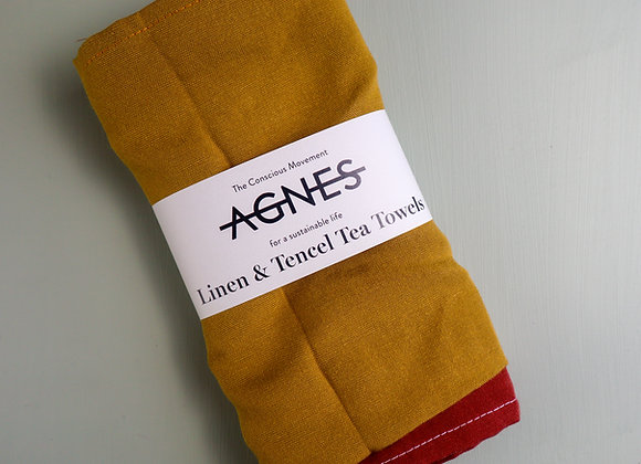 LINEN & TENCEL TEA TOWELS