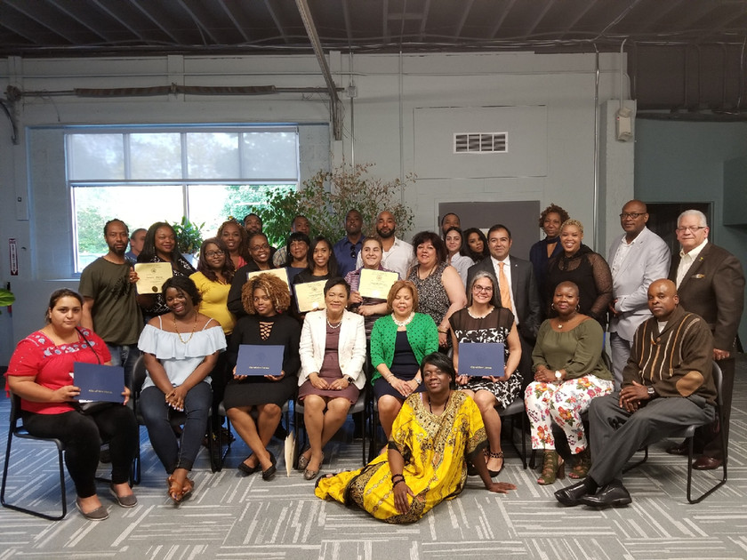 New Haven Small Business Graduation Phot