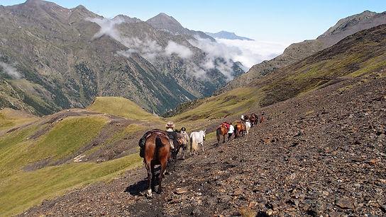 Grande Traversée des Pyrénées à Cheval