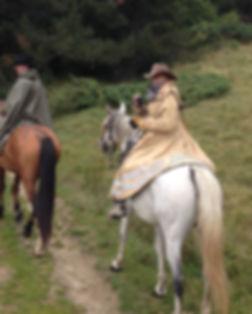 Canigou à cheval