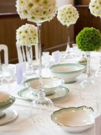 De winnende tafel van Hermitage wedstrij
