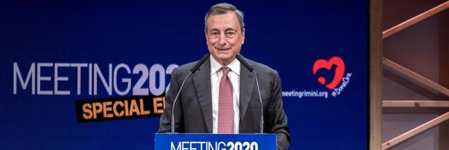 Il richiamo di Mario Draghi