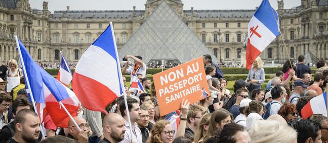 Il pass francese anti-Covid