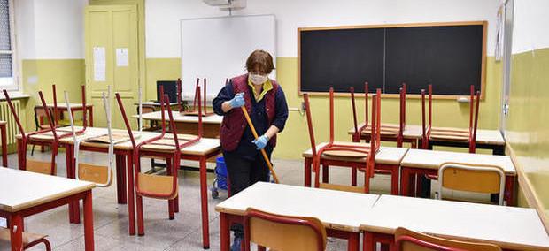 La difficile riapertura delle scuole
