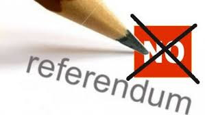Un referendum nella crisi