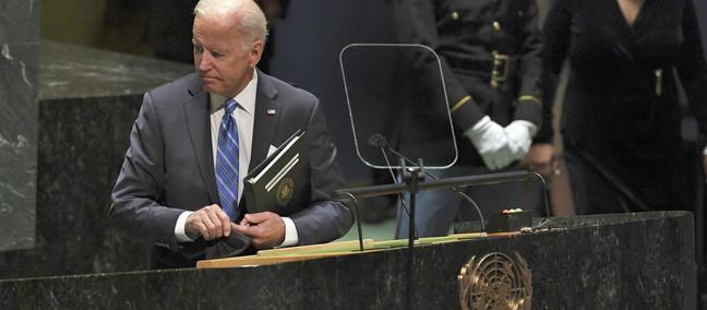 Il discorso di Biden all'ONU