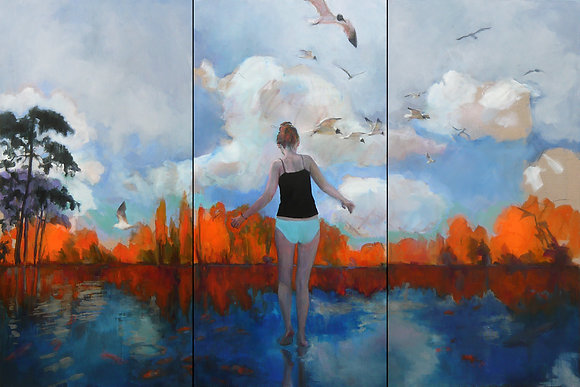 Sandrine RONDARD - Variations chromatiques n°1