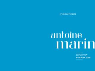 Marine WALLON - Sélectionnée pour le 22e Prix Antoine Marin représentée par Philippe Cognée