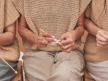 É provado que o tricô, crochê e o bordado fazem bem para saúde!