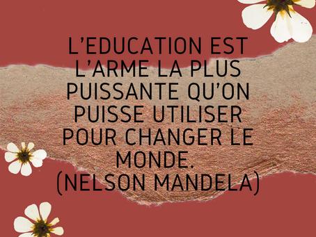 Citation de Nelson Mandela sur l'éducation