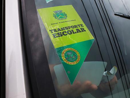 Renovação de Alvará para Transporte Escolar 2021 em Santa Bárbara segue até dia 15