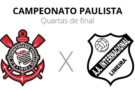 Corinthians x Inter de Limeira abrem as quartas de final do Paulistão