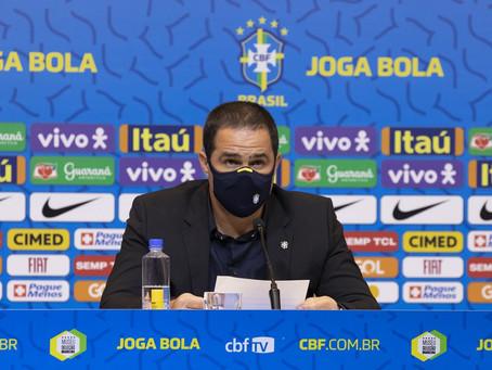 """Jardine convoca Claudinho, Pedro e Gerson, após polêmica, para a seleção olímpica: """"Erro faz parte"""""""