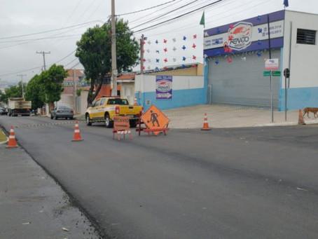 Obra de recape na Avenida Anhanguera, em Hortolândia, entra na segunda etapa