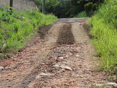 Estrada Boa Esperança recebe melhorias