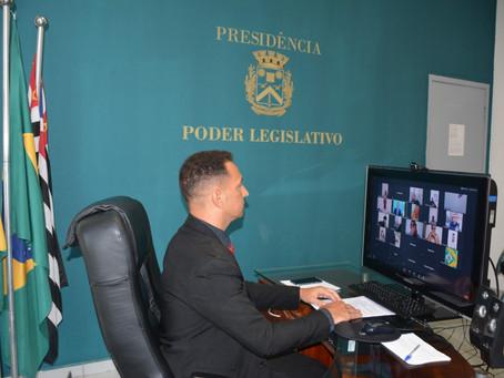 Vereadores aprovam dois projetos do Executivo na 1ª Reunião Ordinária de 2021 em Santa Bárbara