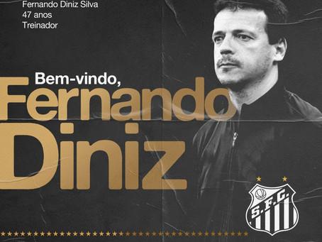 Santos anuncia a contratação do técnico Fernando Diniz