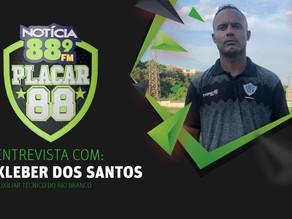 Entrevista com Kleber dos Santos
