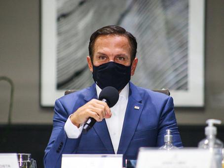 'Ao contrário do que foi dito sobre o Brasil, SP não quebra', diz Doria