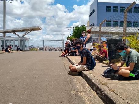 Portões são fechados e Unicamp começa 2ª fase do Vestibular 2021