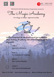 Magic Holiday Programme Poster