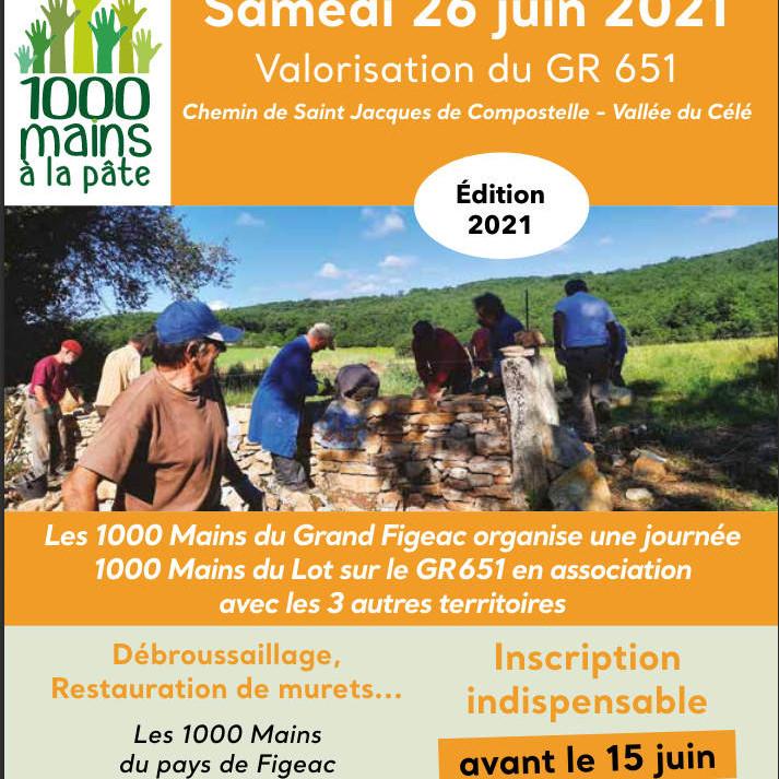 Journée inter-territoires «1000 mains»