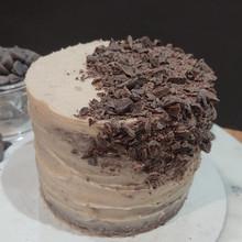 mini cake chocolate