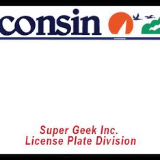 Wisconsin license plate logo