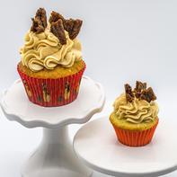 Eggnog Gingersnap Cupcake