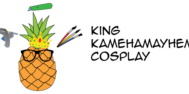 King Kamehamayhem Cosplay logo