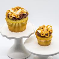 Carmel Coconut Cupcake