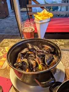 mussells and frites