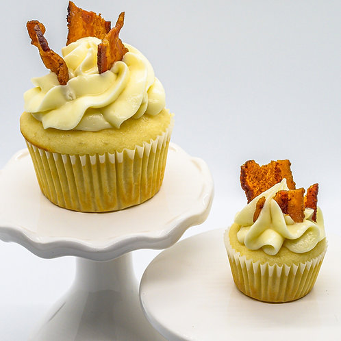 Maple Bacon French Toast Cupcake