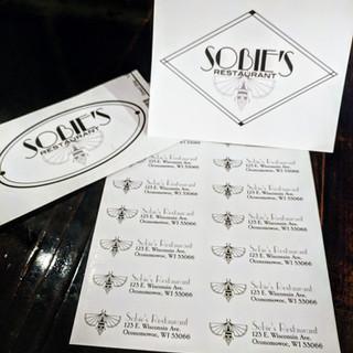 Sobie's Restaurant marketing materials