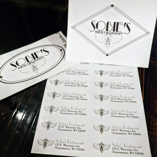 Sobie's Restaurant marketing materials