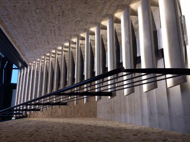 Escalier asymétrique