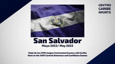 LES JEUX D'AMERIQUE CENTRALE et de la CARAÏBE EN 2023 à SAN SALVADOR