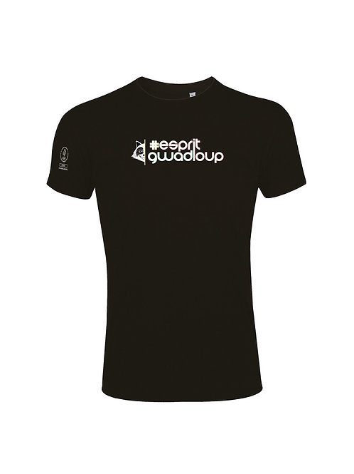 T-shirt Esprit Gwadloup black/white