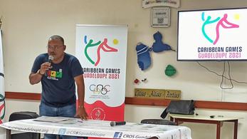 Lancement du compte à rebours J-500 des Caribbean Games Guadeloupe 2021