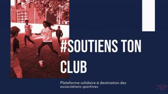Opération #Soutienstonclub : le mécénat au service du sport