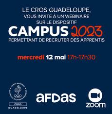 """Webinaire """"Présentation Campus 2023"""""""