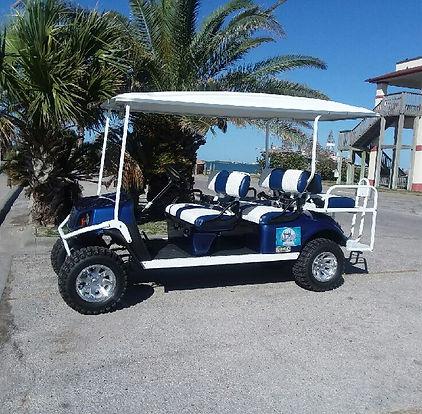 port aransas, texas, beach cart rental