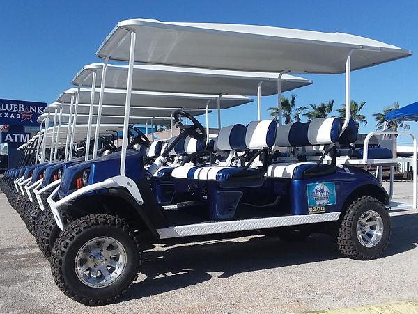 port aransas texas fishing cart