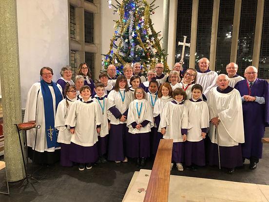 The Chor at Christmas 2019
